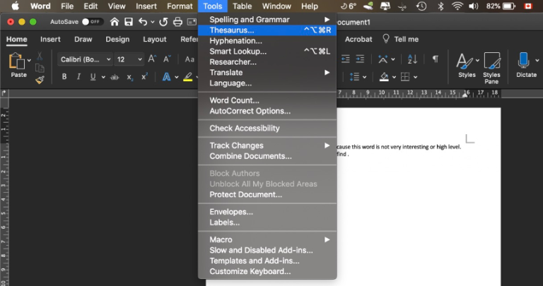Use MS Word To Improve Your English Skill